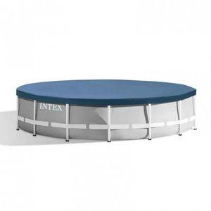 BÂCHE - COUVERTURE  INTEX Bâche protection pour piscine ronde 4,57m