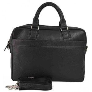 ATTACHÉ-CASE Serviette / Cartable  en cuir Katana 83608-noir No