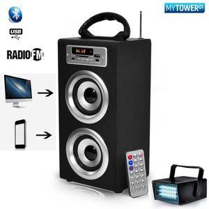 ENCEINTE ET RETOUR Mini Enceinte Batterie Colonne My TOWER HiFi Karao