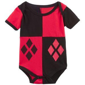 Ensemble de vêtements Vêtements de bébé Harley Quinn Joker Cosplay Greno