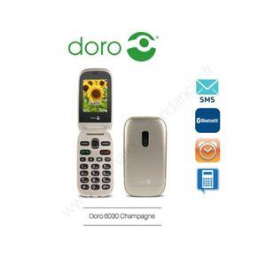 Téléphone portable Téléphone Portable Doro 6030 Champagne