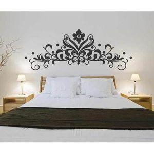 Tete De Lit Baroque V2 Chambre Sticker Mural Design Idee Hotel Lit Design Interieurlw469096