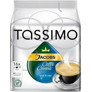 CAFÉ TASSIMO 626057, 16 tasses, 1 pièce(s)