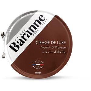 CIRAGE ET ENTRETIEN BARANNE Cire pour Chaussures Luxe Marron - 75ml