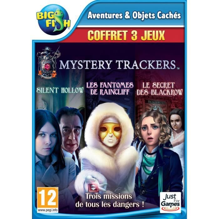 Pack Mystery Trackers Jeux PC