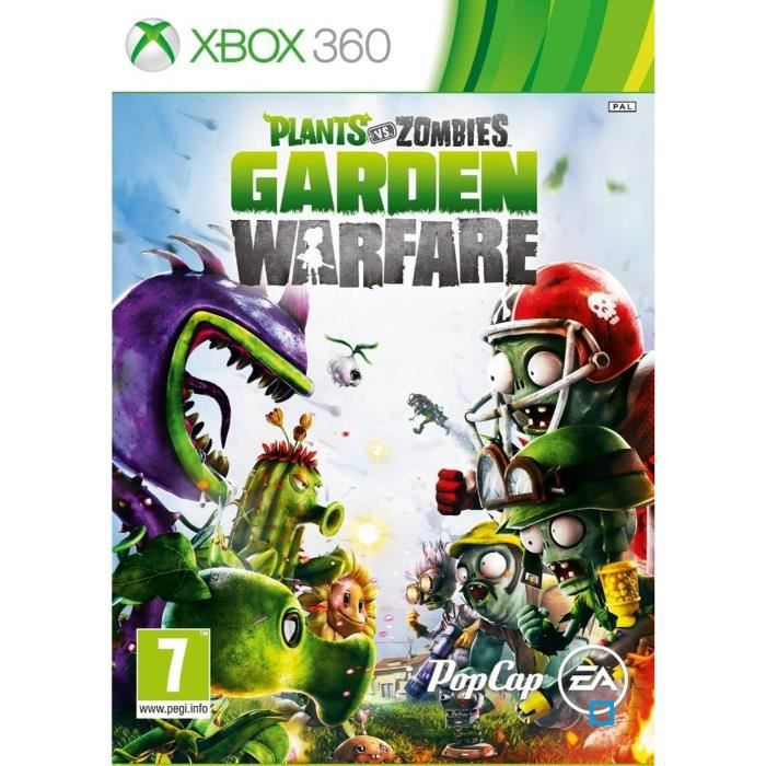 JEUX XBOX 360 Plants vs Zombies Garden Warfare Jeu XBOX 360