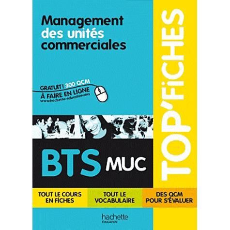 maganement des unit s commerciales bts muc achat vente. Black Bedroom Furniture Sets. Home Design Ideas