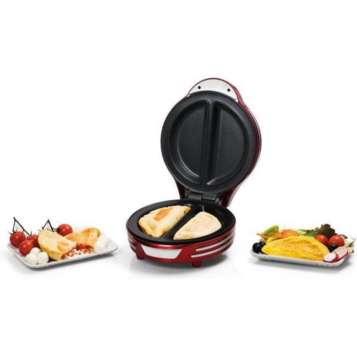 ARIETE 182 Appareil à omelette vintage - Rouge