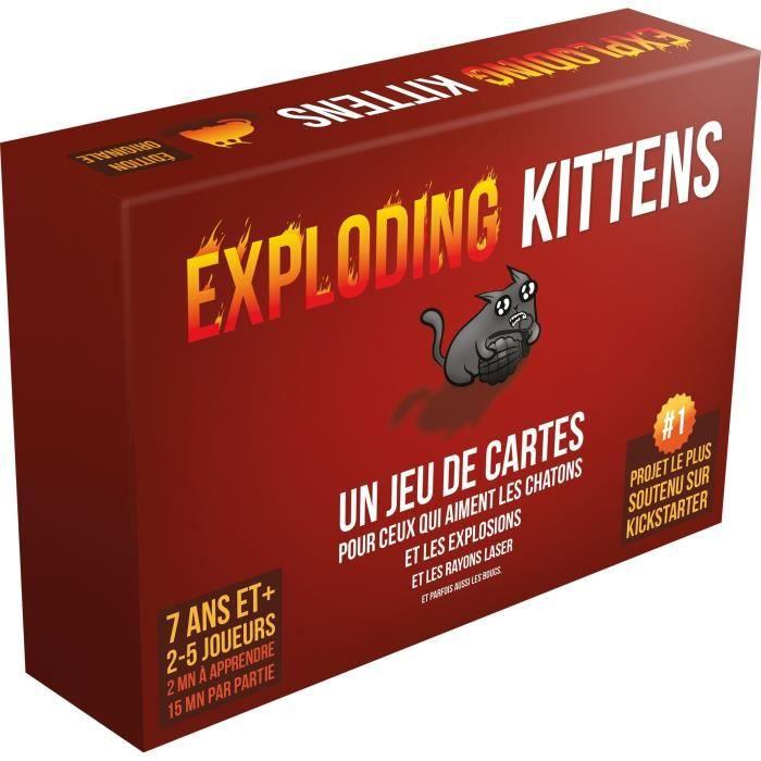 ASMODEE - Exploding Kittens - Jeu de société