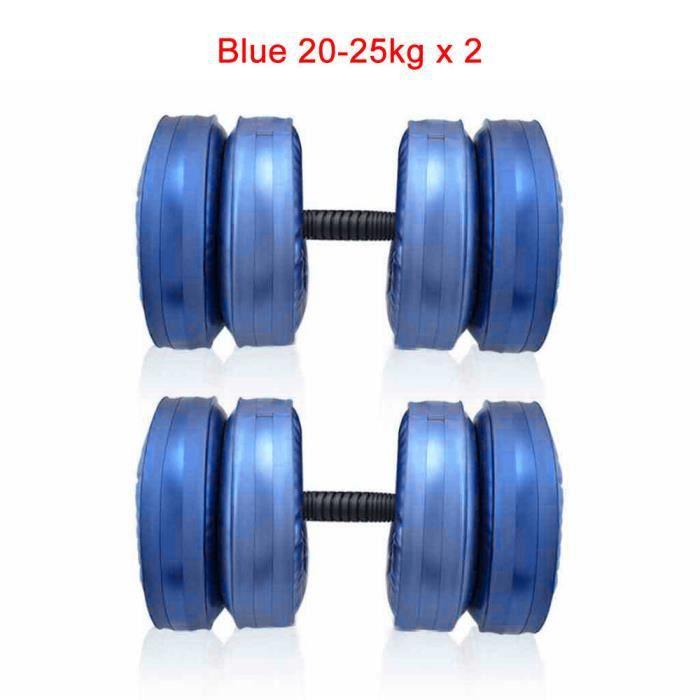 Haltère d'eau haltère gonflable haltère réglable haltère solide écolière en fonte entraînement de force entraînement du corps