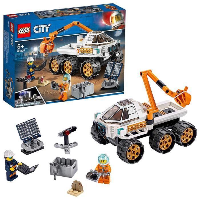 LEGO City - Le véhicule d'exploration spatiale, Enfant de 5 Ans et Plus, Jouet de Construction 202 Pièces - 60225