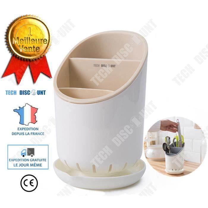TD organisateur couverts boite de rangement cuisine original design range pot panier porte ustensiles respirant vaisselle Gocc