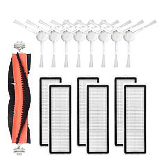 Kit de nettoyage de remplacement pour aspirateur Robot Xiaomi Dreame F9, brosses à rouleau, brosse latérale en tissu, fi*DI1572
