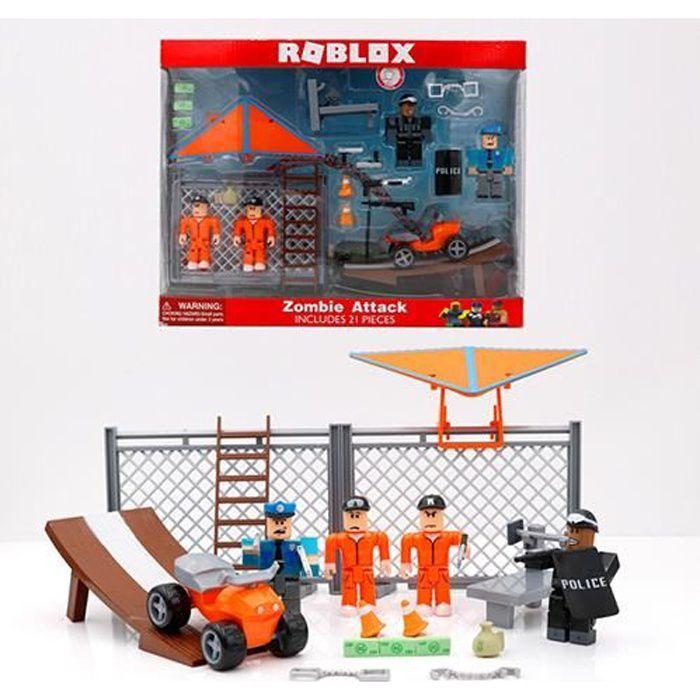 ROBLOX monde virtuel prison jeu d'évasion ensemble 7 cm modèle pour enfants jouet personnage mobile cadeau de vacances pour enfants