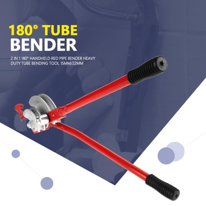 15-22mm Pince à Cintrer pour Tubes Pince à Cintrer pour Tuyaux Cintreuse Outil de cintrage de tube à main pour cintreuse de tubes HB