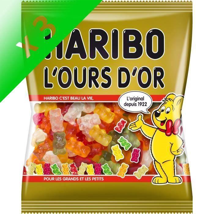 [LOT DE 3] Bonbons Ours 300 g Haribo