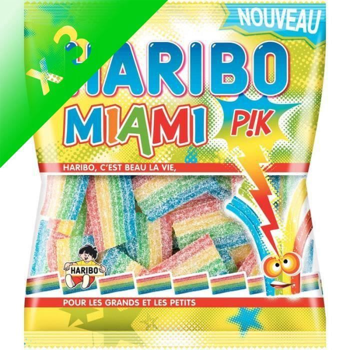 [LOT DE 3] Miami Pik 200 g Haribo