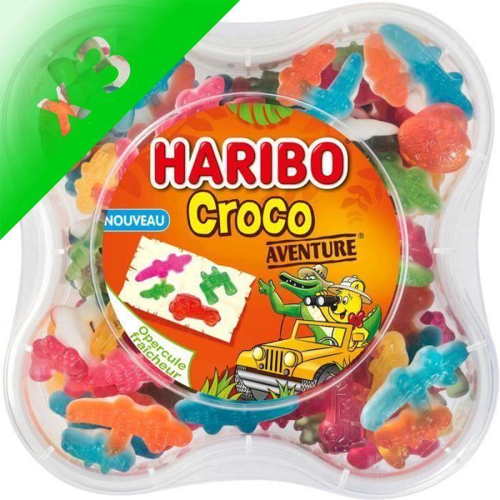 [LOT DE 3] HARIBO Bonbons Croco Aventure - 570 g