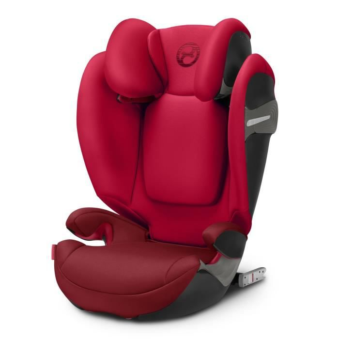 CYBEX Siège auto Groupe 2 3 - Solution S - Fix Isofix - Rebel Red
