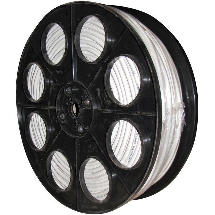 Câble souple HO5VVF - 2x1.5 mm² - 1/2 touret 150 m