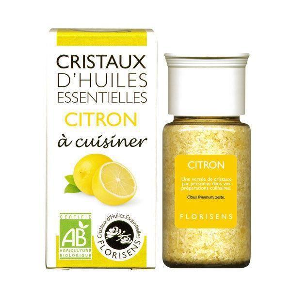 Cristaux d huiles essentielles Citron bio 20g