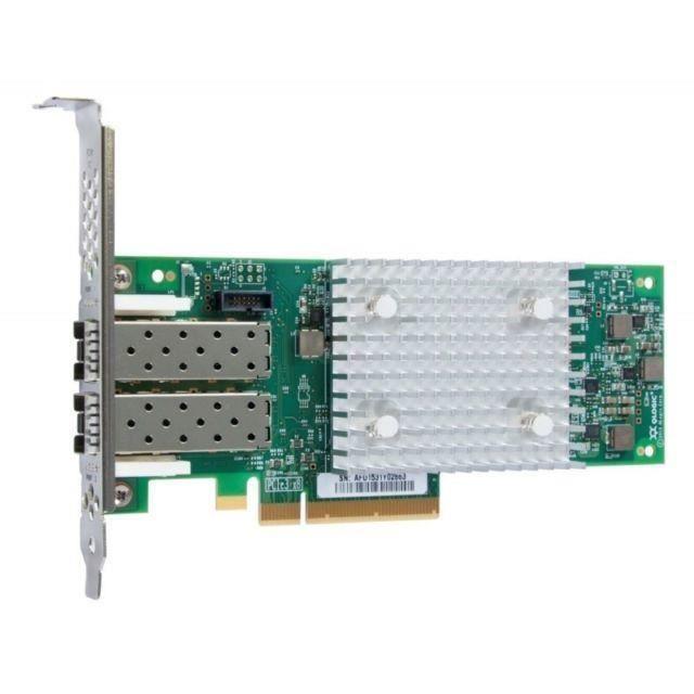 Lenovo Adaptateur de bus hôte Qlogic 16Gb Fc Dual Port Hba (Enhanced Gen 5) Pcie 3.0 x8 16Gb Fibre Channel x2