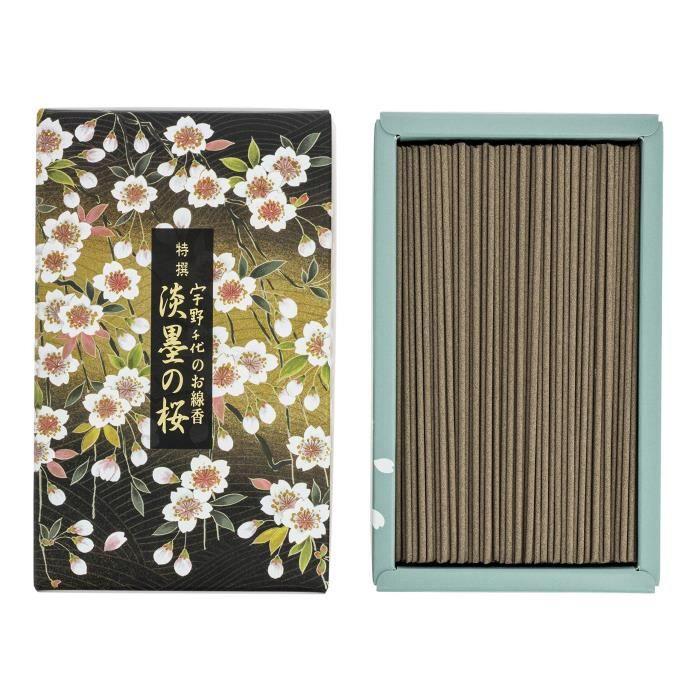nippon kodo 37115 Tokusen Sakura Usuzumi, Encens, Vert, 17 x 10 x 4 cm