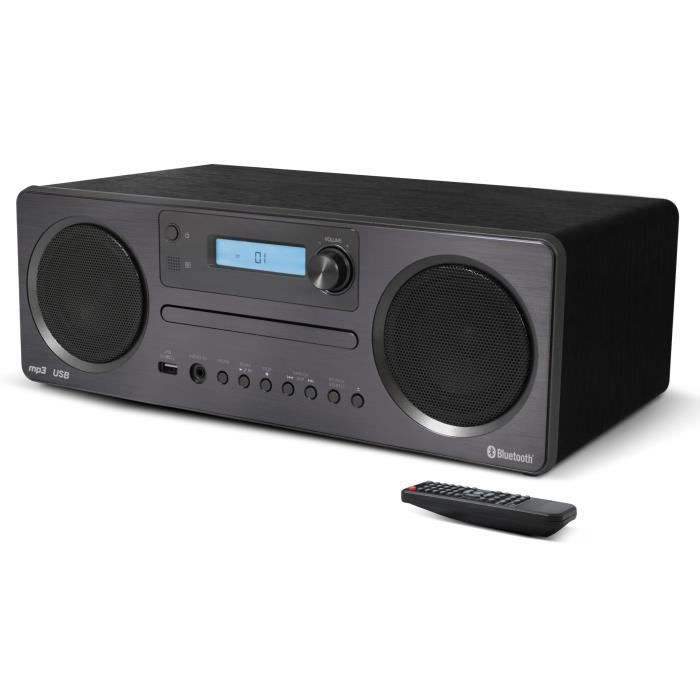 Microchaine CD MP3 Bluetooth avec USB - Format de lecture : CD Audio, CD-R(W) MP3 - Bluetooth 3.0CHAINE HI-FI