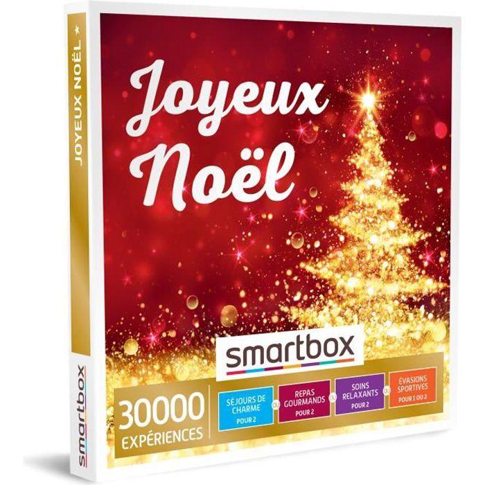SMARTBOX - Coffret Cadeau - JOYEUX NOËL - 30000 expériences : soins relaxants, nuits de charme, repas savoureux et évasions sportive