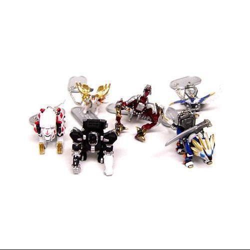 Accroche-Sac TOMY JU88I Zoids Genesis Set de 6 porte-clés