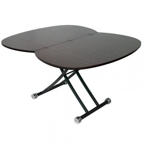 Table basse relevable rallonge wenge caoza achat vente table basse tabl - Table relevable rallonge ...