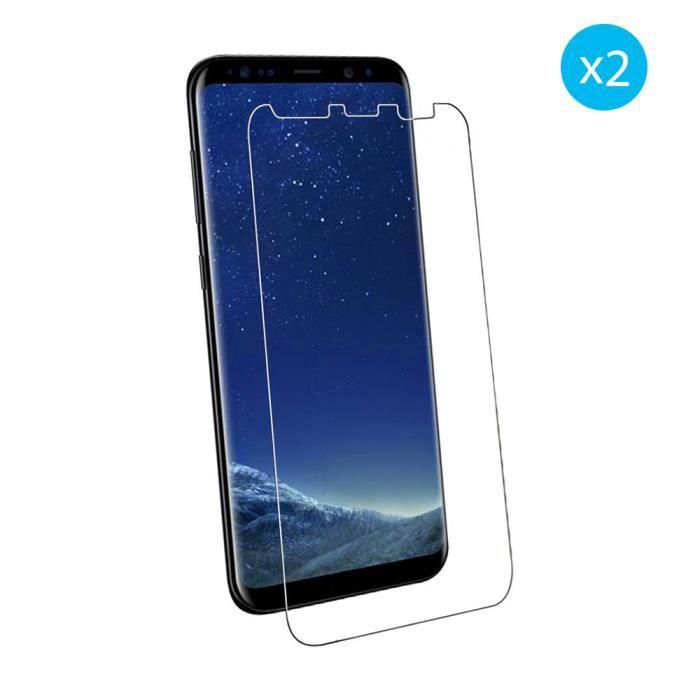 Film Protection en Verre tremp/é /écran Protecteur Vitre pour Samsung Galaxy S8 Anti Rayures,Ultra R/ésistant Duret/é 9H Glass Screen Protector Verre Tremp/é Galaxy S8, Lot de 3