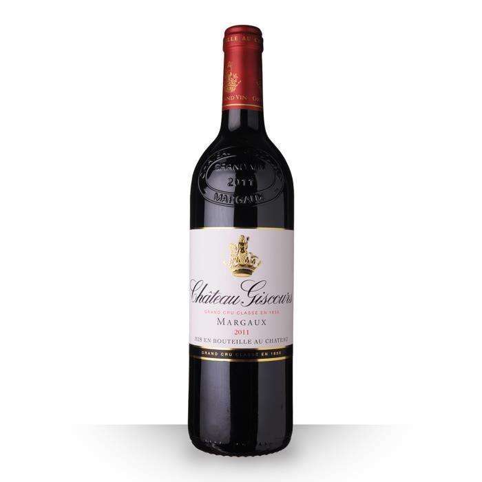 VIN ROUGE Château Giscours 2011 Rouge 75cl AOC Margaux - Vin