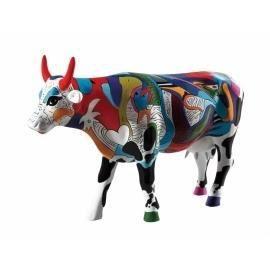 Vache Cow Parade Ziv S Udderly Cool Cow Achat Vente Statue Statuette Resine Verre Cdiscount