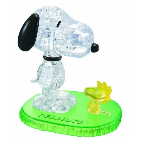 PUZZLE CRYSTAL PUZZLE: SNOOPY WOODSTO
