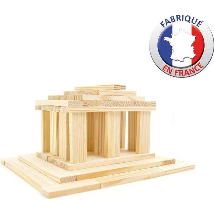 Tecap 3xl 200 pieces achat vente assemblage construction cdiscount for Construction bois kapla