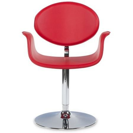 Chaise fly rotative design rouge achat vente chaise for Chaise fly rouge
