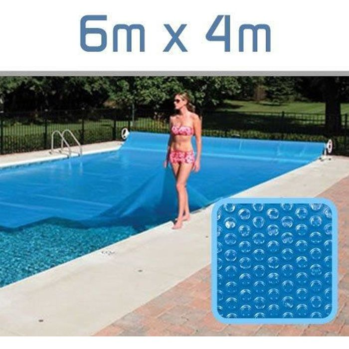 B che bulle 300 microns 6m x 4m linxor achat vente for Piscine enterree 6x4