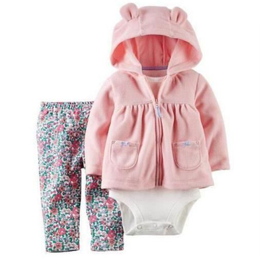 Carters de b b gar on fille v tements b b set rose achat vente ensemble de v tements - Vetement bebe fille fashion ...