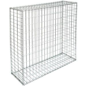 gabion 100x100x30 achat vente gabion 100x100x30 pas cher cdiscount. Black Bedroom Furniture Sets. Home Design Ideas