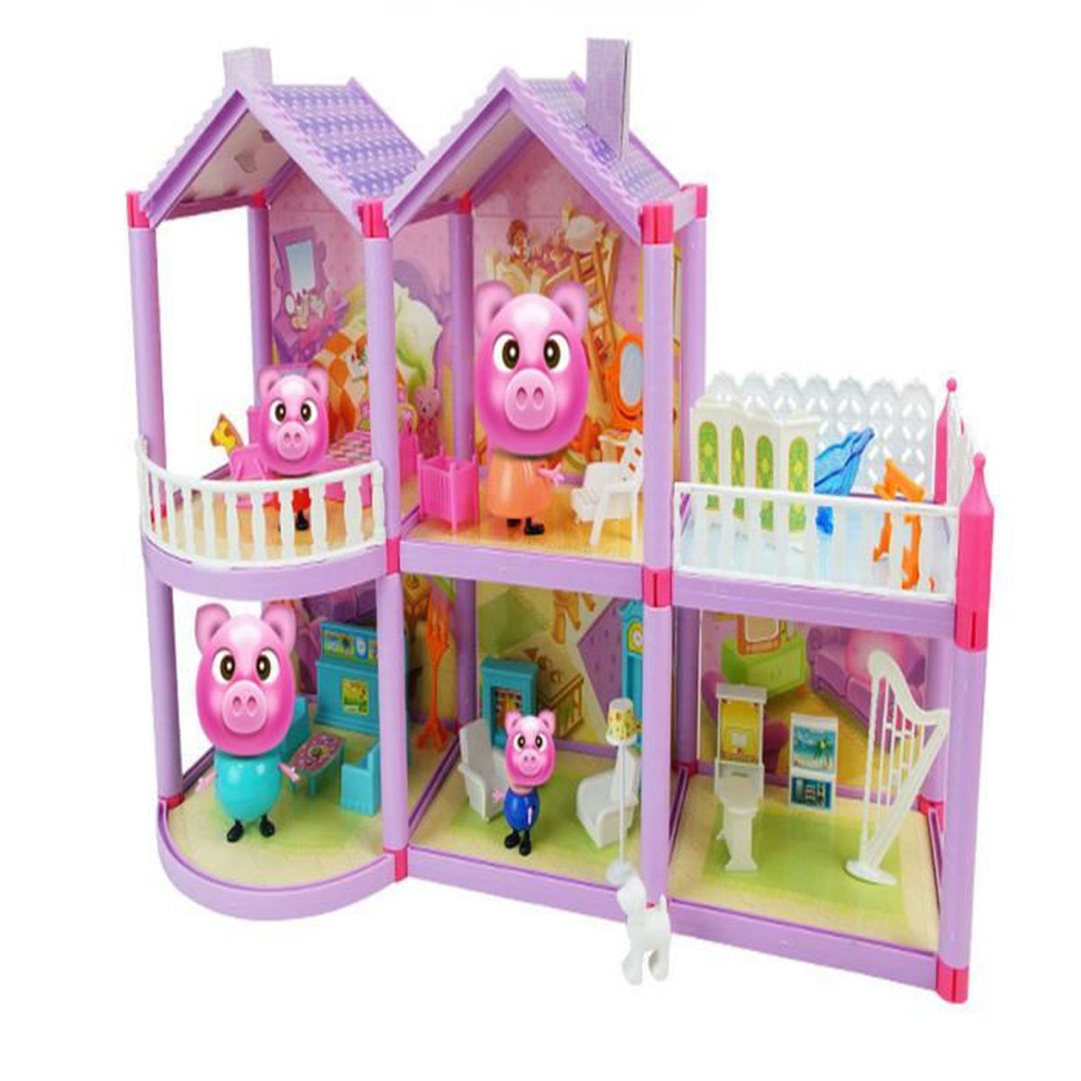 Peppa pig princesse suite maison d collection achat for Arielle d collection maison
