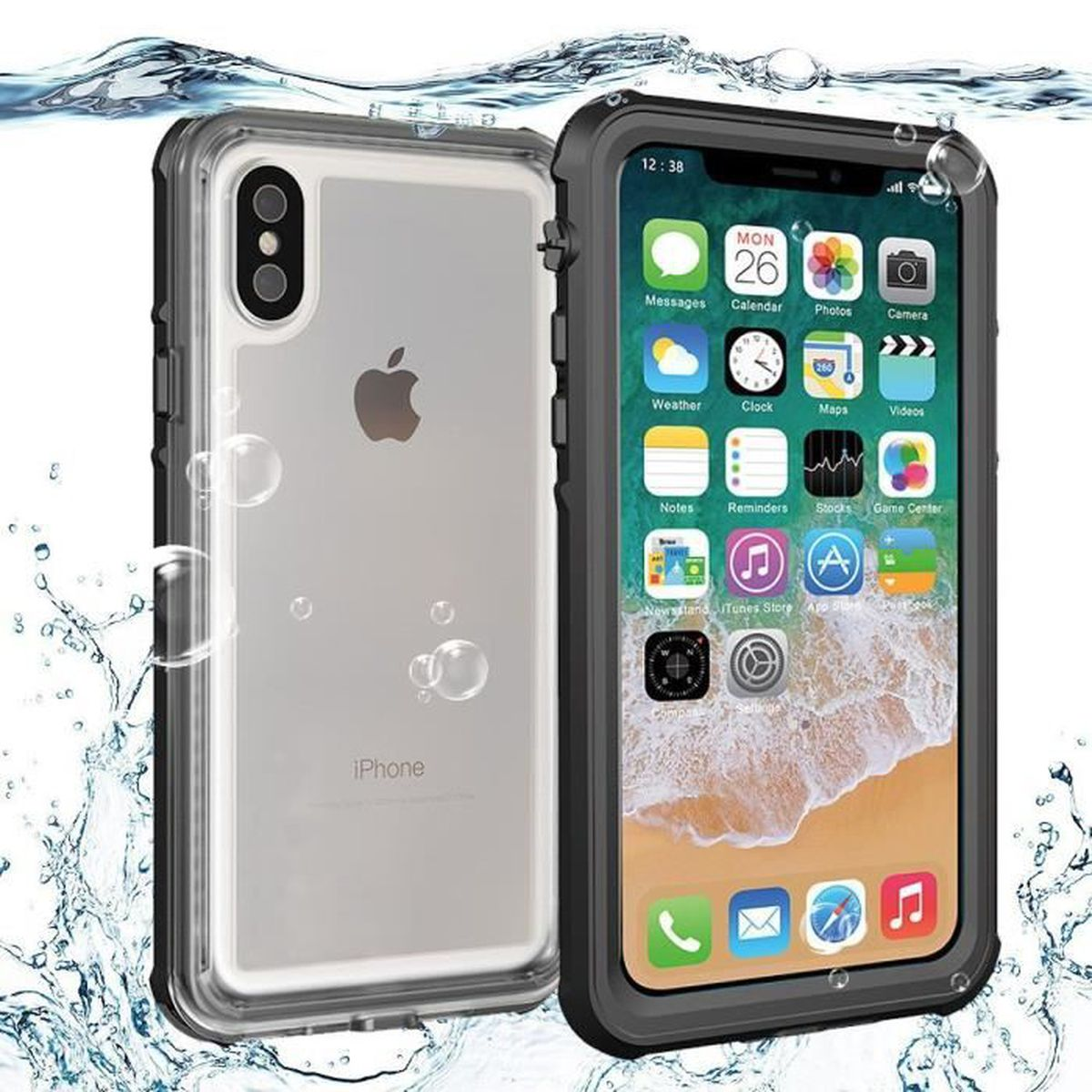 juce r coque etanche iphone x impermeable ip68 ho