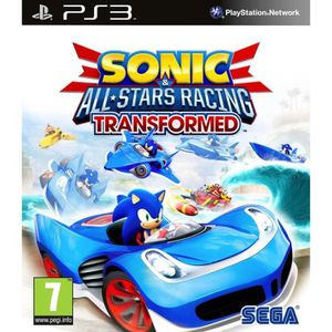 JEU PS3 Sonic & All  Stars Racing Transformed Jeu PS3