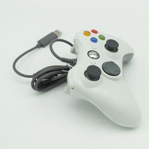 MANETTE JEUX VIDÉO Pour Microsoft XBox 360 Controller Blanc Manette f