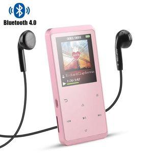 ENCEINTE NOMADE AGPTEK Haut-parleur MP3 Bluetooth 4.0 8Go en Métal