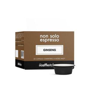 CAFÉ 80 Capsules  de Soluble Ginseng compatibles avec m