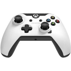 MANETTE JEUX VIDÉO PDP Manette Filaire Pour Xbox One  Blanc
