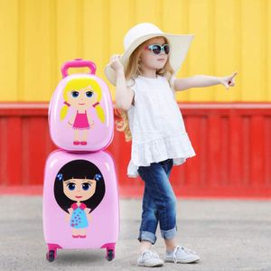 SET DE VALISES Valise Enfant Sac à Dos Enfant Trolley à roulettes