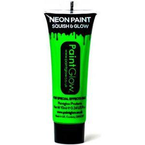 ACCESSOIRE DÉGUISEMENT Maquillage UV dans le Tube au néon vert Body Paint