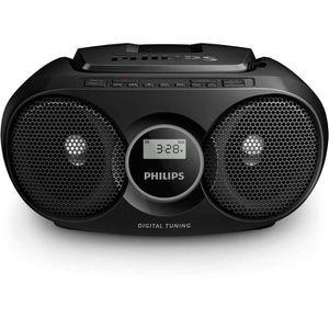 RADIO CD CASSETTE Philips AZ318 Lecteur CD-MP3 avec port USB, entrée